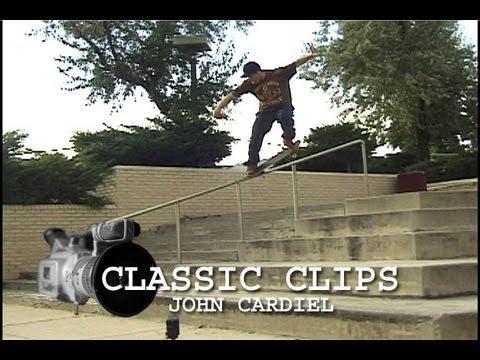 Skateboarding Classic Clips #5 - John Cardiel