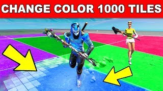 CHANGE THE COLOR OF 1000 TILES - Downtown Drop Challenges Guide
