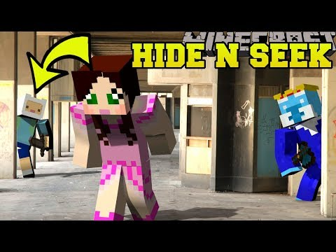 Minecraft: ADVENTURE TIME HIDE AND SEEK!! - Morph Hide And Seek - Modded Mini-Game