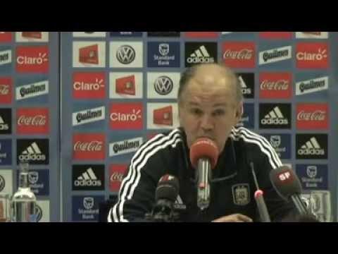 Sabella hablando de Messi