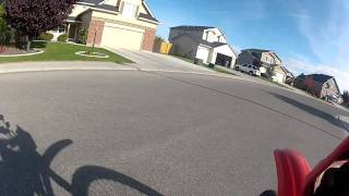 GoPro HD Hero 2 - Handlebar Mount - First Test - Motorcycle Ride