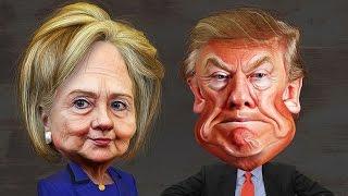 Trump Hillary Rap - 2016 election song - trump song - rap battle