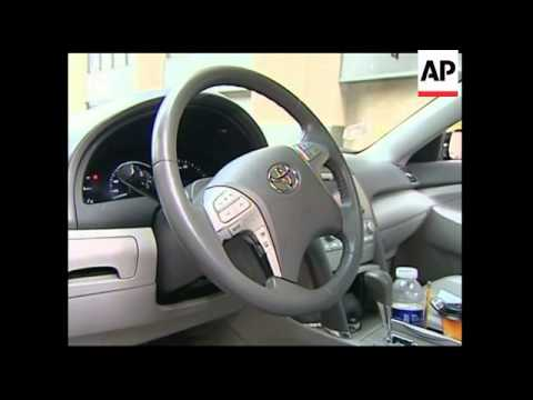 Japanese car giant recalls 2.3m US vehicles to fix gas pedals