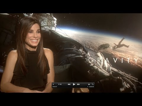GRAVITY Interviews: Sandra Bullock, Alfonso Cuaron (Director) and Mike Massimino (NASA Astronaut)