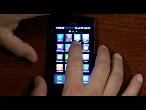 AT&T Samsung Captivate Review