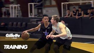 Training at the Stellazzura Basketball Academy | Gillette World Sport