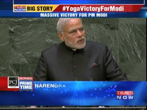 UN declares World Yoga Day