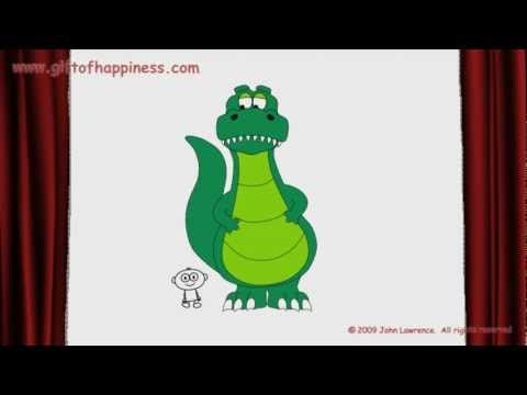 Counting To Ten With Lawrence's Dinosaur - Learning Numbers For Babies, Toddlers, And Big Kids video