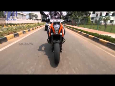 Review of KTM 200 Duke Motorcycle   Green Signal