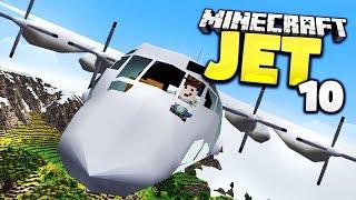 Riesen AC-130! Bruchlandung im Wasser? - Minecraft Jet #10 │ GommeHD
