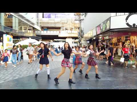 Download Busaba cover Blackpink bbhmmplaying with fire kpop in public