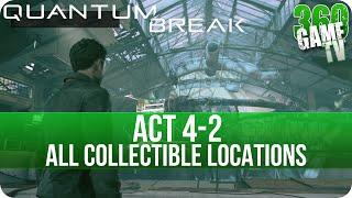 Quantum Break Act 4-2 Collectibles Locations (Preparing the Time Machine)