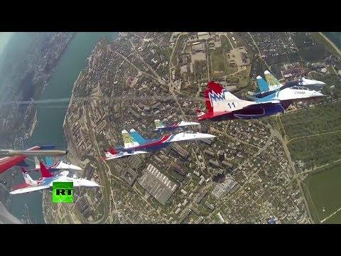 El desfile del Día de la Victoria de 2014 en Sebastopol (versión completa)