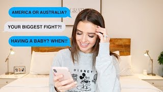 Download Lagu HONEST Q&A - OUR BIGGEST FIGHT, HAVING A BABY, BEING A CHRISTIAN + MORE | Jess Conte Gratis STAFABAND