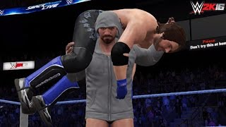 WWE Dream Returns: CM Punk returns & confronts AJ Styles (WWE 2K16-2K15 PC Mods)