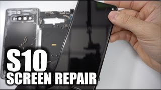 Take Apart & Replace Screen - Samsung Galaxy S10 Screen Repair