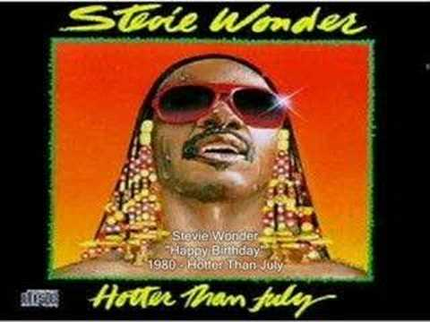 Stevie Wonder - Happy Birthday video