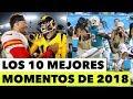LOS 10 MEJORES MOMENTOS DEL 2018 EN LA NFL   Hablemos de Football Ep. 224