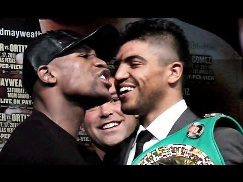 Floyd Mayweather Jr vs Victor Ortiz: Final Press Conference [FightFan.com]