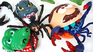 Giant scorpion, spider appeared! Crocodile, dinosaur, dentist doctor Drill! Go! - DuDuPopTOY