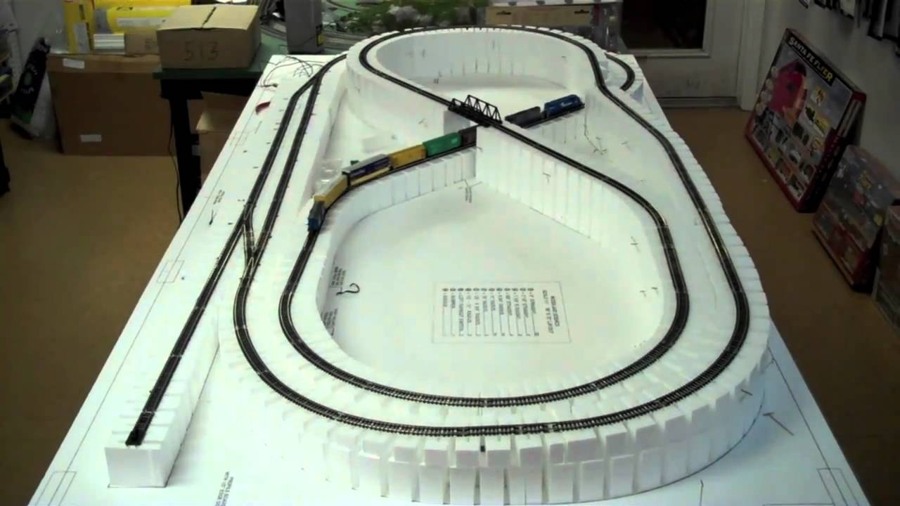 White Rose Hobbies N Scale Layout Build 1 Hd Youtube