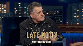"LATE MOTIV -  El Gran Wyoming. ""El relator"" 