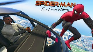 SPIDER-MAN FAR FROM HOME (Spider-Man Missions) - GTA 5 Mods