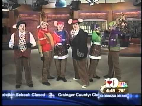 Cast of Dollywoods Twas the Night Before Christmas on NBC WBIRs Live at Five at 4:00