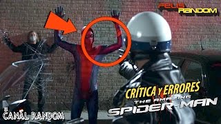 Errores de Películas The Amazing Spider-man Review Crítica Spiderman