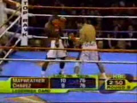 Mayweather vs Chavez war