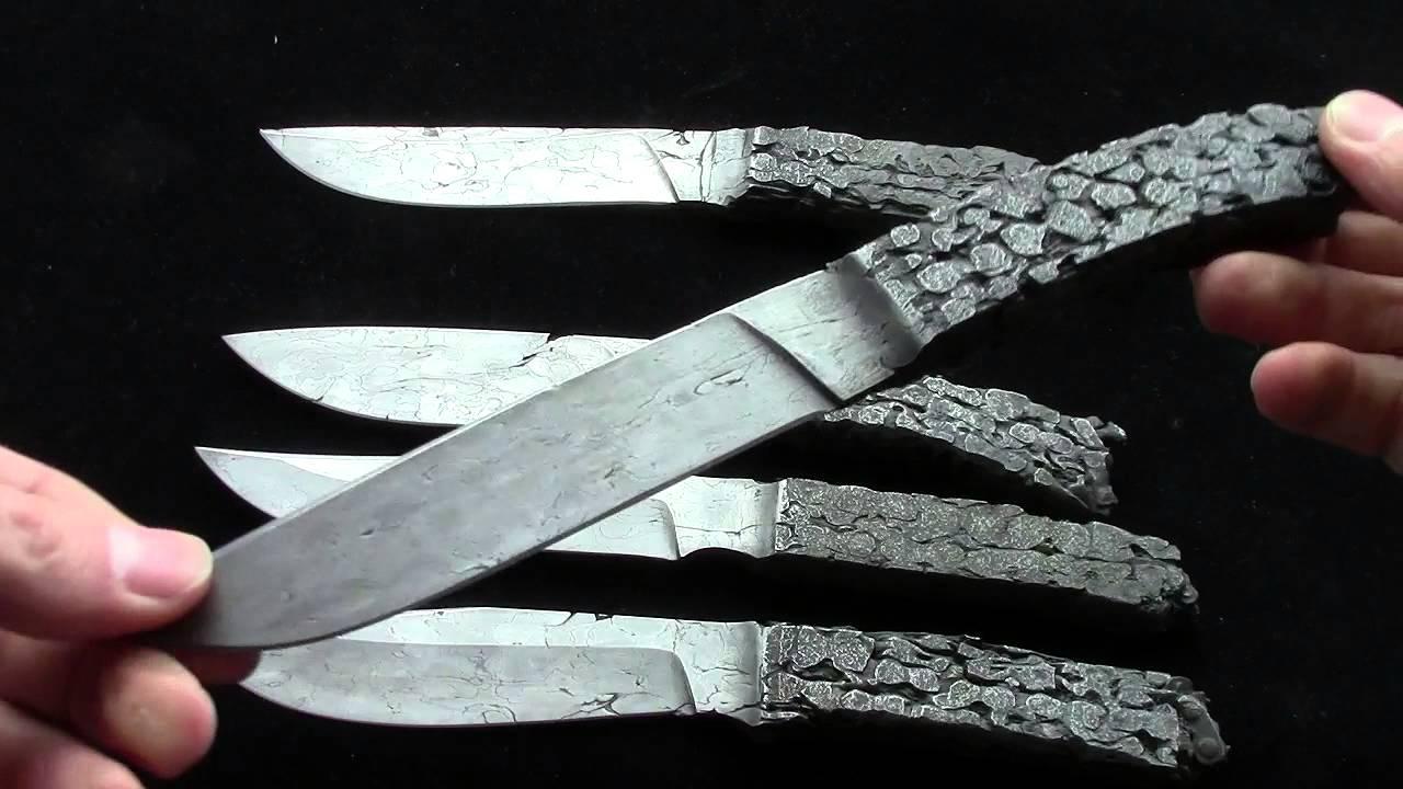 Нож из велосипедной цепи своими руками