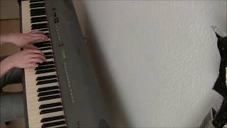 Spice and Wolf OP 1 - Tabi no Tochuu (旅の途中) (TV-size) - Piano