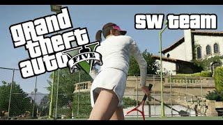 Grand Theft Auto V (PC) - Игра в теннис