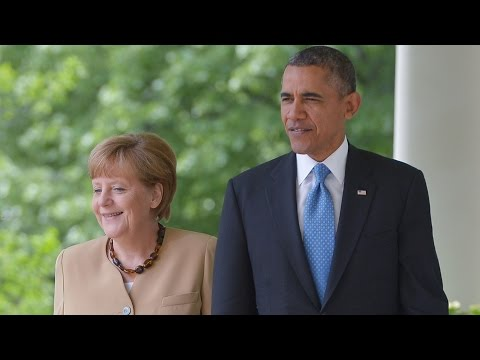 Obama, Merkel hold joint news conference