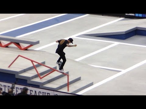 Nyjah Huston Second Place at Street League NYC