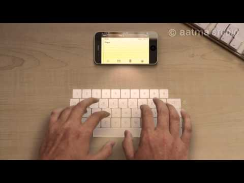 iPhone 5 Features [2 of 4] - Laser Keyboard