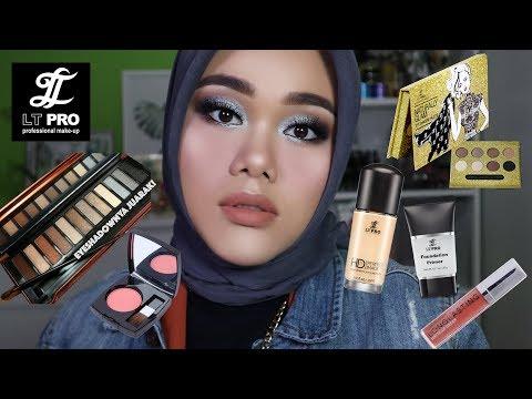 LT PRO ONE BRAND MAKEUP TUTORIAL | Eyeshadownya juarak!!! - YouTube