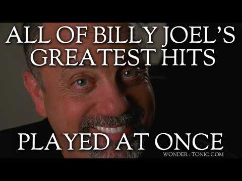 All Of Billy Joel's Greatest Hits Played At Once