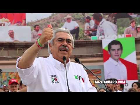 Chon Orihuela propone orden para Michoacán en Zitácuaro