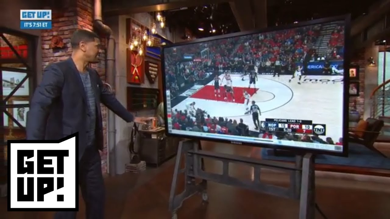 Jalen Rose breaks down film: Raptors-Wizards, Bucks-Celtics, Pelicans-Trail Blazers | Get Up! | ESPN
