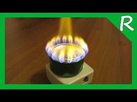 Спиртовая горелка из алюминиевых банок. Часть 1 Alcohol stove - Рецепты