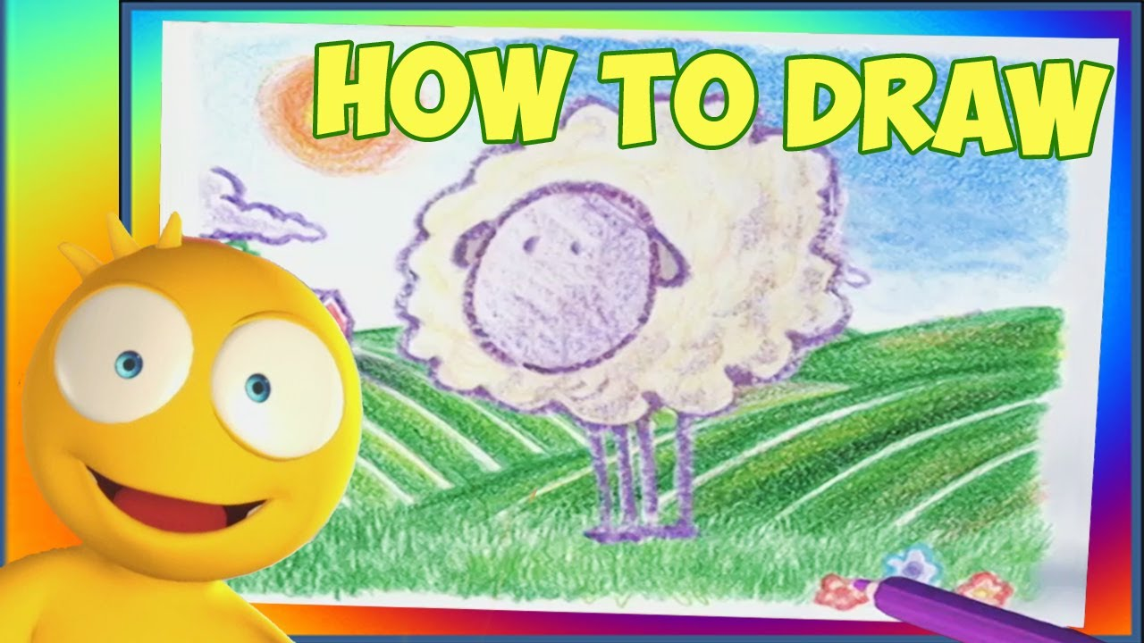 how to draw cartoon animals for children