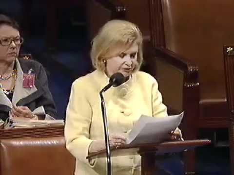 Rep. Carolyn Maloney Speaks in Support of the Crowdfunding Bill