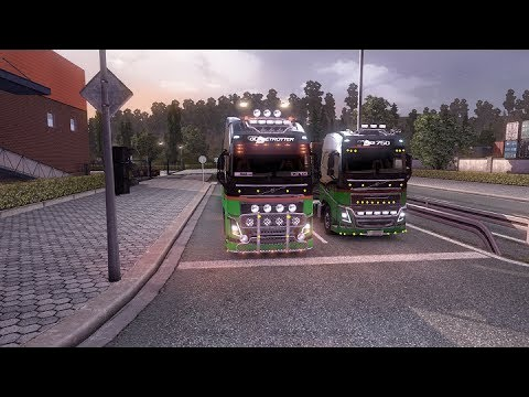 ETS2 Multiplayer +Download (Euro Truck Simulator 2 Multiplayer) ETS2MP Gameplay #ETS2MP