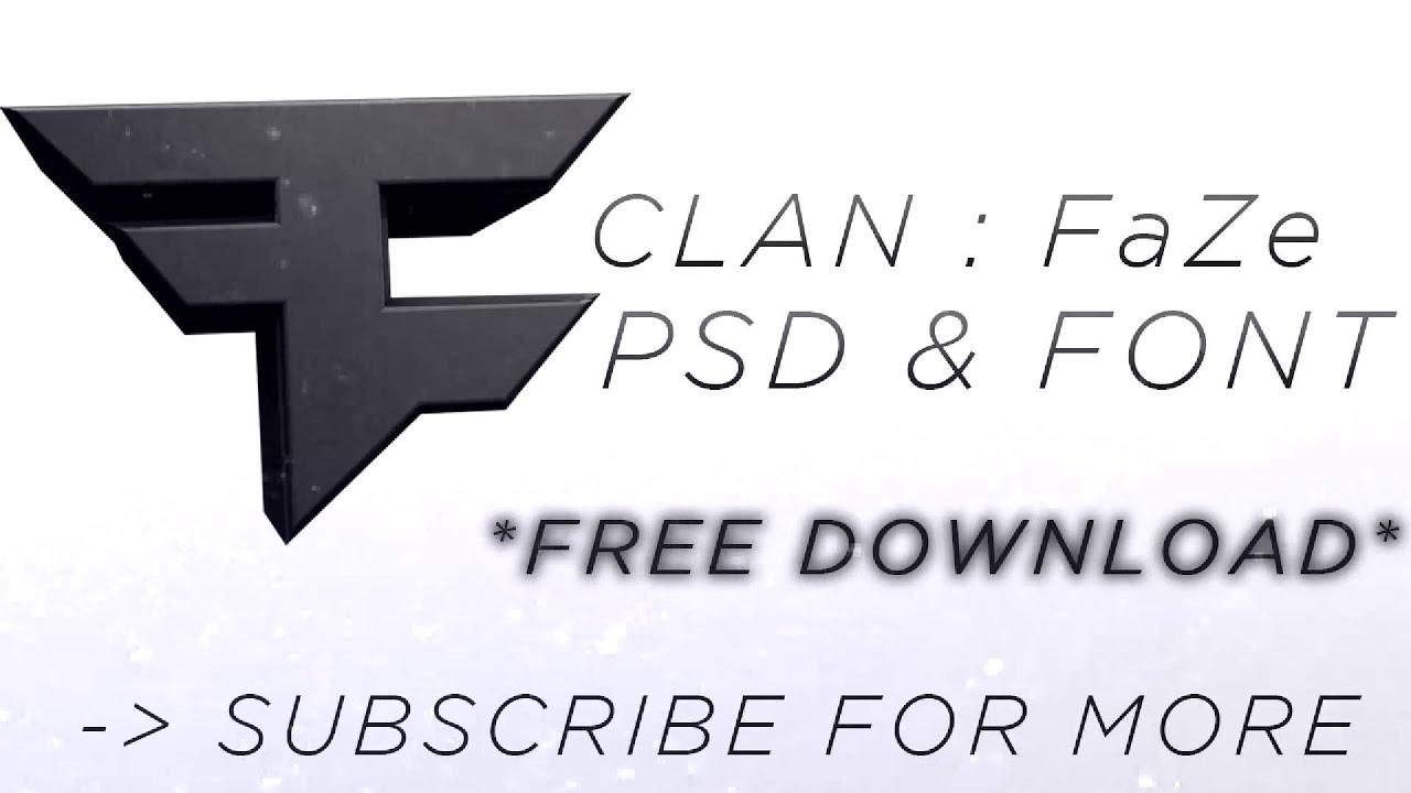 fazeclan logo psd free download youtube