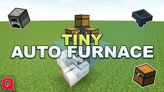 Minecraft - Tiny Automatic Furnace // Automatischer Ofen - (Quick) Tutorial 1.12