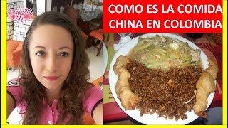 COMO ES LA COMIDA CHINA EN COLOMBIA - VILLAVICENCIO