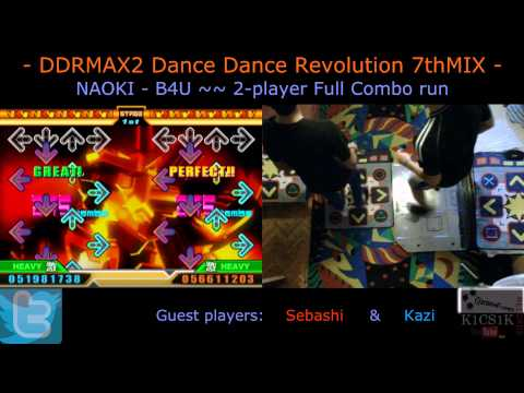 Ddr Live Request #009: Naoki - B4u [2-player Full Combo Run] video