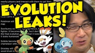 Pokemon Sword and Shield Starter Evolution Leaks Vs Official Interview!
