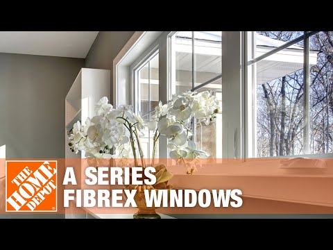 """A"" Series Fibrex Windows by Andersen"